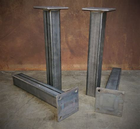 metal table legs set of 4 1228height