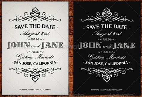 10 Save The Date Card Templates Free Word Design Ideas Save The Date With Photo Templates