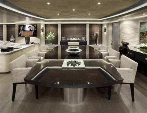 amazing dining rooms hurricane run superyacht interior superyachts news