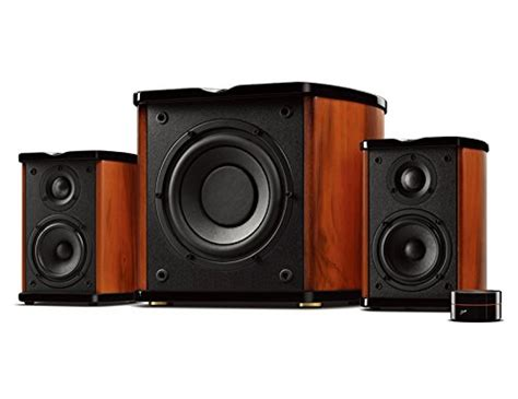 swan speakers m50w powered 2 1 bookshelf speakers