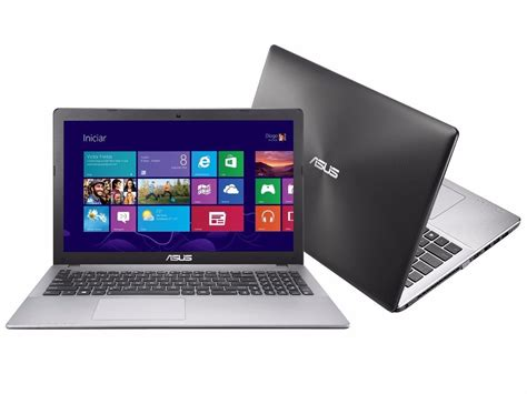 Laptop Asus I5 November notebook asus i5 6gb hd500 tela15 6 roda jogos semi