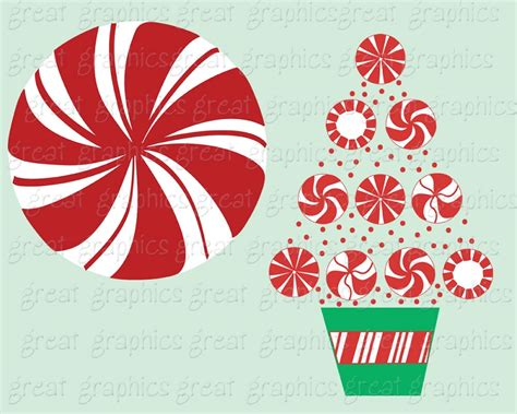 peppermint clip art christmas ribbon candy clipart www imgkid com the
