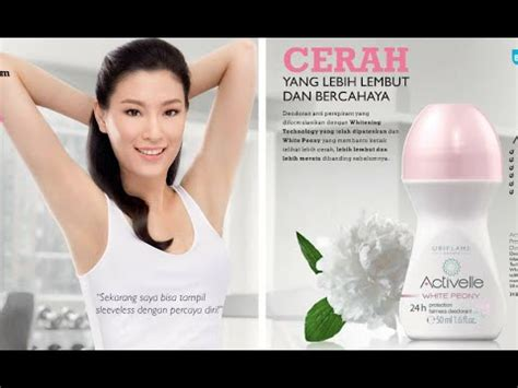 promo activelle white peony 24h protection fairness roll on deodorant 31272 katalog oriflame