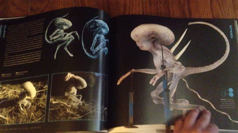 the art and making the art and making of alien covenant page by page book preview youtube