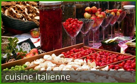 cuisine am駭ag馥 italienne quizz special italie