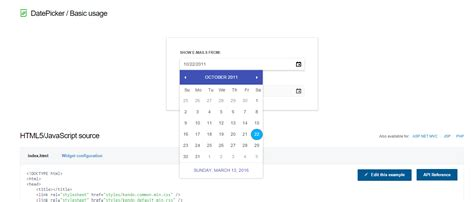 kendo datepicker format advanced web ui components automation with testing framework