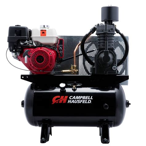 cbell hausfeld 30 gal portable gas powered air compressor ce7003 the home depot