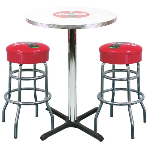coke bar 2 stool set millennium seating usa