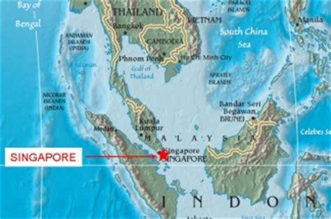 imagenes satelitales de singapur singapur mapa 88095 homeup