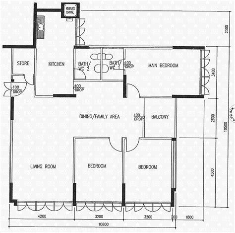 east floor plan floor plans for jurong east 21 hdb details srx