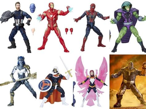 Marvel Legends Iron 48 Infinity War Baf Mcu Thanos infinity war marvel legends 7 pack thanos baf by hasbro
