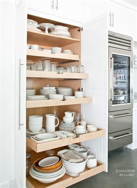 Floor To Ceiling Pull Out Pantry Cabinet Design Ideas Cabinet Pull Out Shelves Kitchen Pantry Storage
