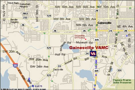 map of florida gainesville deboomfotografie