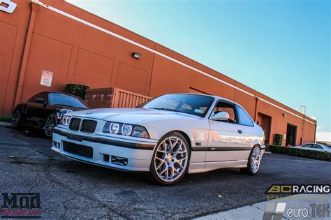 bmw e36 coilovers classic e36 bmw m3 on bc coilovers eurotek wheels gets