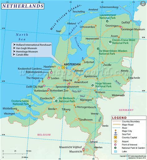 netherlands map and cities cities in netherlands map of netherlands cities