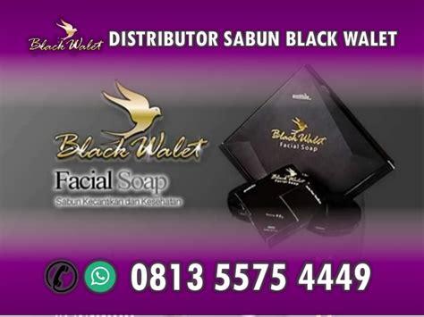 Sabun Wajah Black Walet hp wa 0813 5575 4449 agen sabun wajah black walet makassar