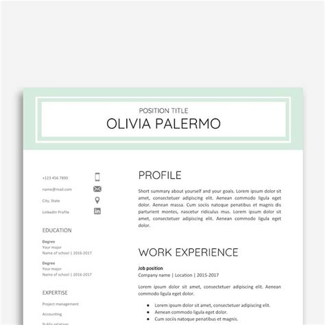 21 Best Google Docs Resume Templates Google Drive Exles Cover Letter Template Docs