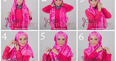 tutorial berhijab terbaru tutorial berhijab modern terbaru 2013 cara memakai shawl