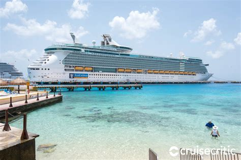 cozumel port cozumel on royal caribbean freedom of the seas ship