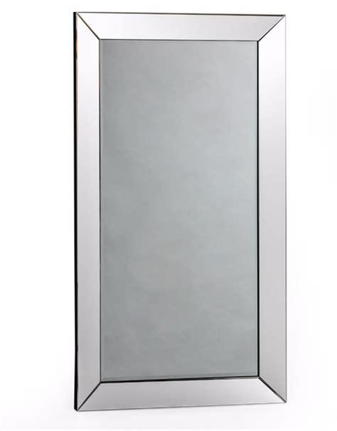 large rectangular mitre edged venetian wall mirror