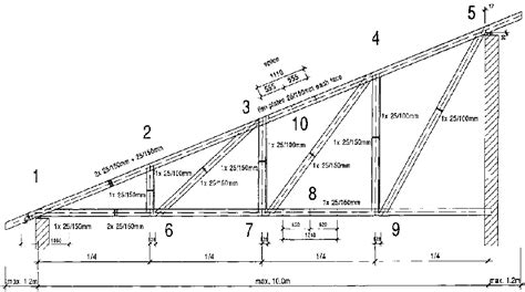 single pitch roof download single slope roof plans free