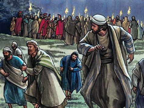 freebibleimages prayer   garden jesus prays