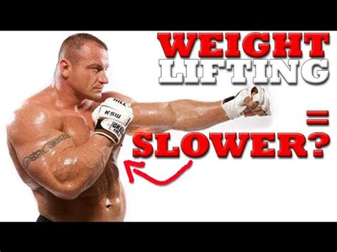 boxer weight will lifting weights make me slower weight lifting for boxing