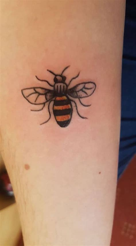tattoo prices manchester the manchester bee a symbol of hope and the many tattoos