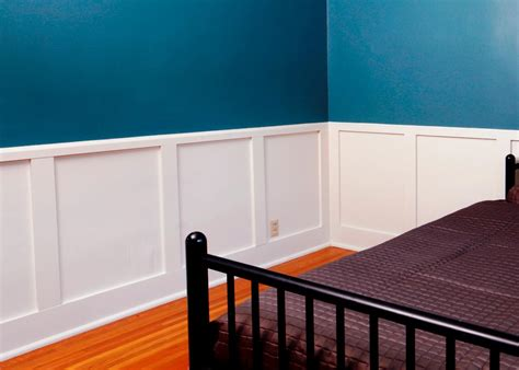 Office Wall Design by How To Install Recessed Panel Wainscoting How Tos Diy
