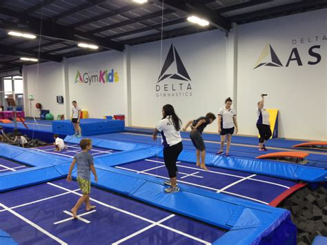 delta brisbane toddler kids competitive gymnastics