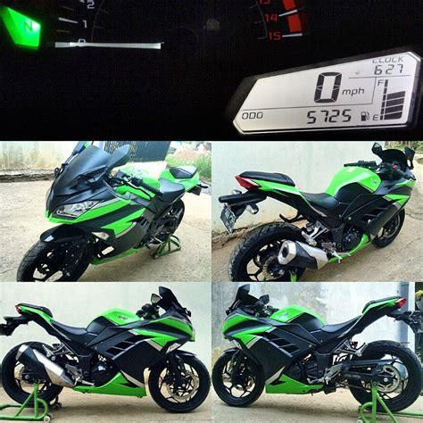 Motor Bekas Cianjur kawasaki 250 fi hijau tahun 2013 cianjur jual