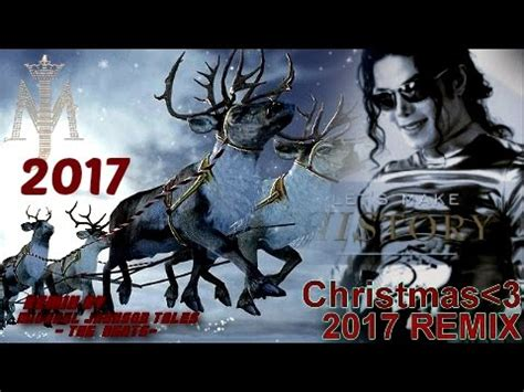 michael jackson merry christmas dreams remix happy  year  youtube