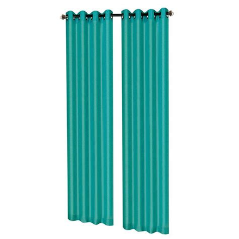 dark turquoise curtains window elements raphael heathered faux linen dark