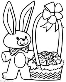 free easter coloring pages to print printable easter coloring pages 005