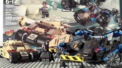 Lego Superheroes 76001 The Bat Vs Bane Tumbler leaks レゴ スーパー ヒーローズ バットマン vs ベイン タンブラー チェイス 76001 動画レビュー legolee329