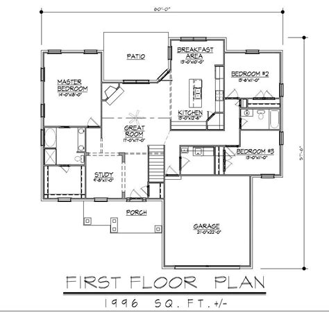 ranch style home plans with basement ranch house floor plans with walkout basement bitdigest
