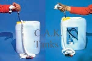 Temporary Shower Kit by Portable Shower Kit 20l