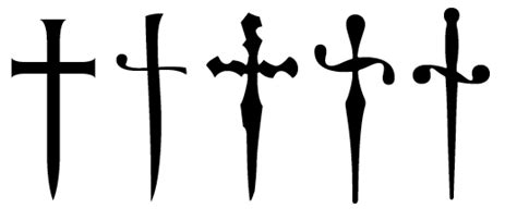 dagger obelisk obelus symbols typography ars technica
