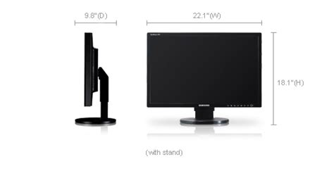 Monitor Lcd Samsung 24 Inch samsung syncmaster 245t 24 inch lcd monitor announced ecoustics
