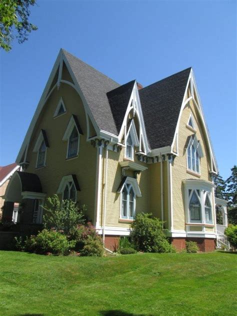 gothic revival house nova scotia where the handiworks of mother nature are