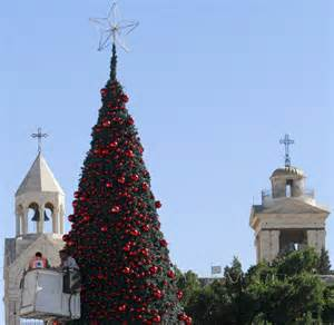 bethlehem israel photos christmas decorations around