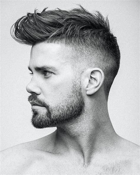 hombre hairstyles imagen cortes de pelo corto hombre degradado blanco y