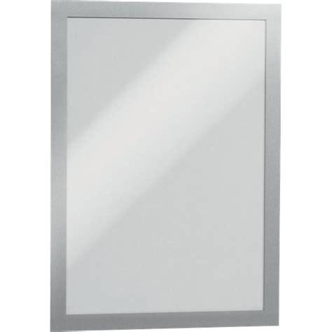 cornici adesive magaframe durable a4 argento 4872 23 conf 2