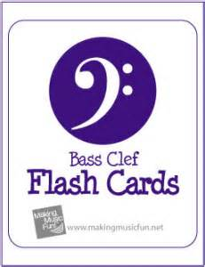 free printable music notes flash cards bass and treble printable music note flash cards treble clef and bass
