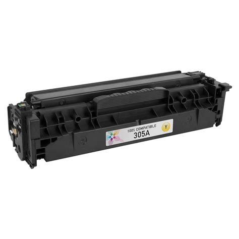 Toner Hp 305a Yellow compatible brand cartridge for hp 305a yellow 123inkjets