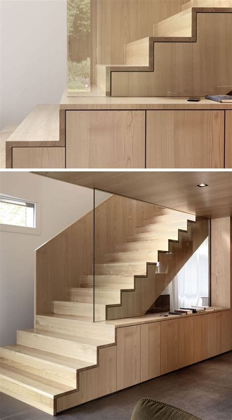 by nimmrichter cda architects interior wood stairs design 18 exles of stair details to inspire you contemporist