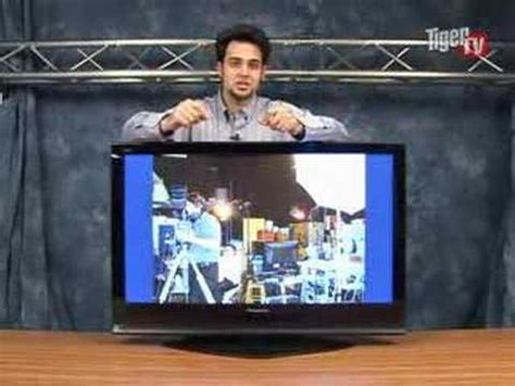 panasonic  pxu   plasma television youtube