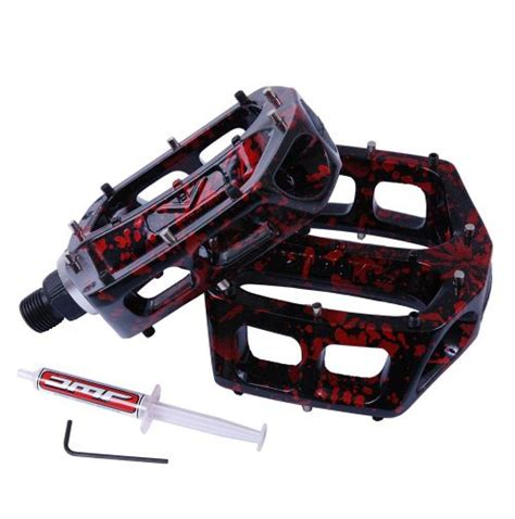 Pedal Flat Lebar Bearing Pedal Bearing United 8 Anodized dmr v8 grease port flat pedals chain reaction cycles