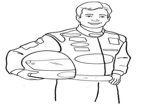 race car driver coloring pages  getcoloringscom