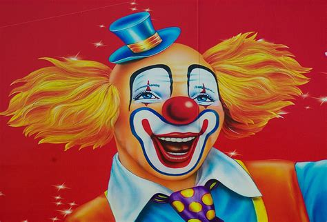 of a clown free photo circus clown disguise show free image on